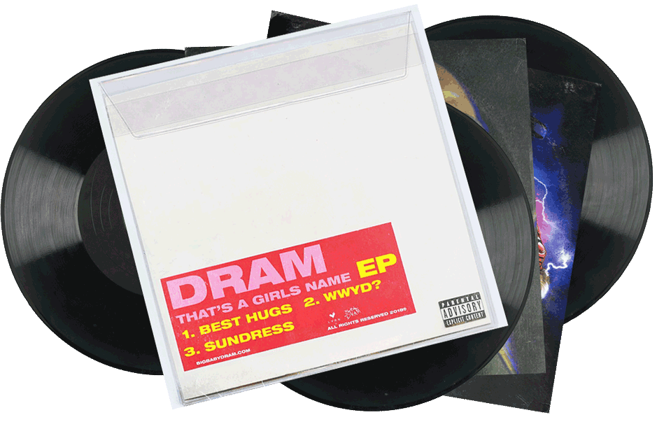 SEVEN SHARKS AIRWAVES | DRAM - THAT'S A GIRLS NAME - EP
