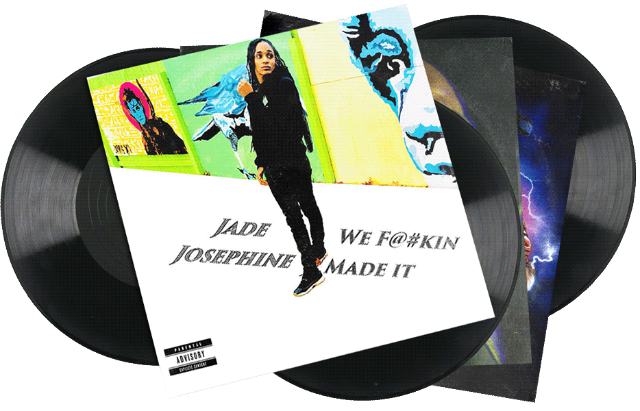 Seven Sharks Airwave - Jade Josephine - We F@#kin Made It - Hip-hop Album