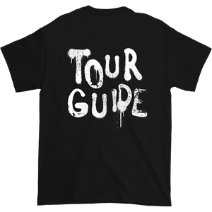Seven Sharks Black Tour Guide Short Sleeve Tee Back