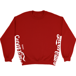 Red Seven Cities Classic Crewneck