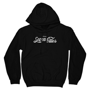 Seven Sharks Black Seven Cities Classic Hoodie