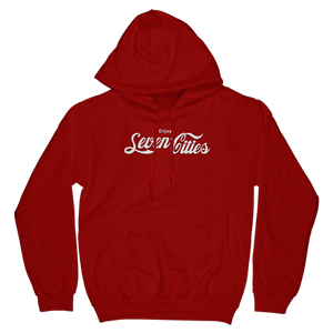 Seven Sharks Red Seven Cities Classic Hoodie