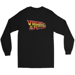 Black VA is The Future Long Sleeve Tee Back