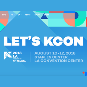 2018 Kcon LA (Aug. 10-12) - LA Convention Center