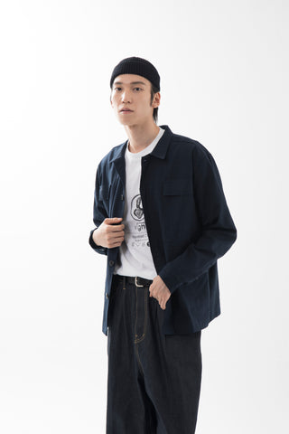 Pocket Jacket _ Nanotex (Navy) - MODIBAG, Clothes - bag, Lim Sungmook - Lim Sungmook, MODIBAG - MODIBAG