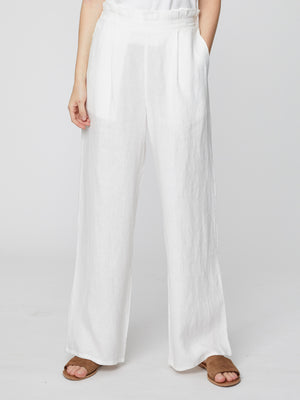 Rosabel Hemp Trousers - White