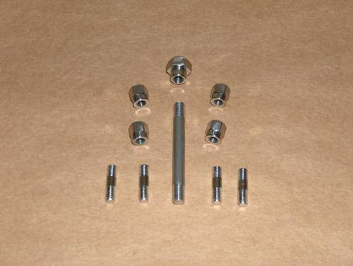 Norton 750 850 Commando Valve Cover Hardware Kit STAINLESS