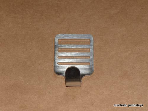 BSA Battery Strap Hook Clip Buckle STAINLESS 441 500 650 750