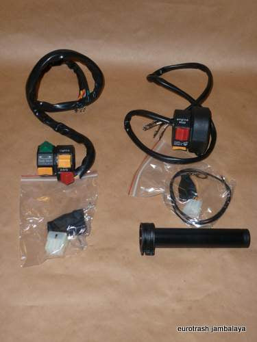 Moto Guzzi Handlebar Switch/Throttle SET V50 T3 G5 SP Lemans