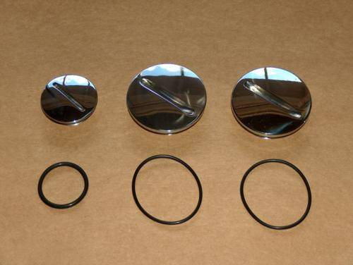 Norton 750 850 Commando Primary Plug Set STAINLESS