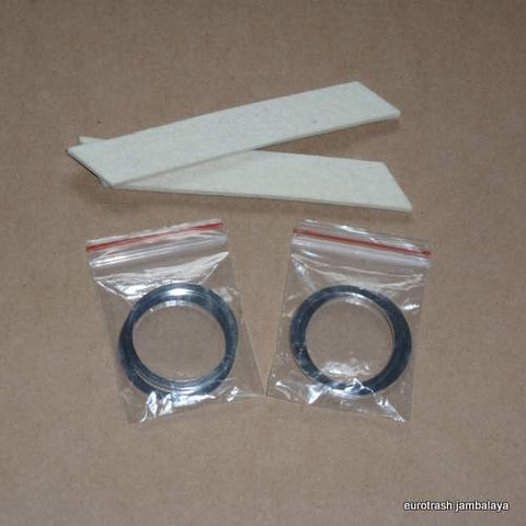Triumph Pre-Unit Fork Seal Felt and Washer SET 97-0391 500 650