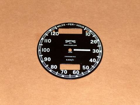 Smiths Chronometric Speedo Face S608/11 Triumph BSA Norton