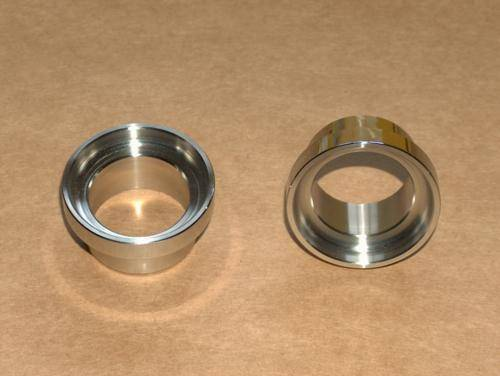 Ducati Bevel Single Fork Bearing Races Stainless NEW 250 350