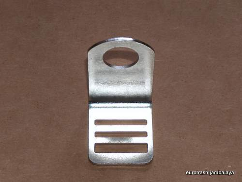 Triumph Battery Strap Hook Clip Buckle STAINLESS 500 650 82-8032