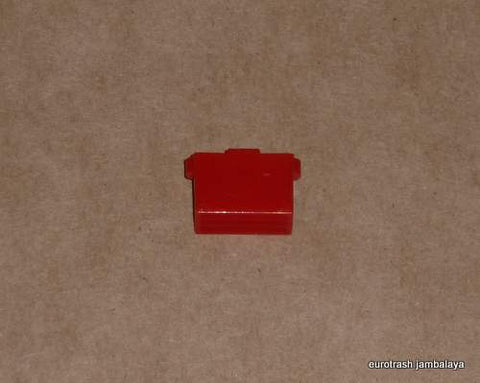 Lucas Handlebar Switch Button Triumph Norton BSA RED tall 73-on
