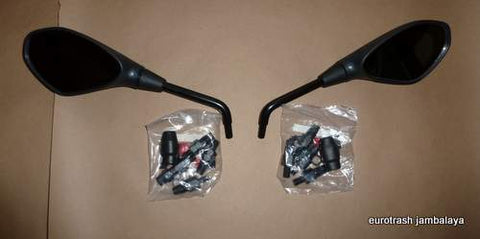 GENUINE Aprilia Mirror SET Triumph Norton Bonneville Commando 750 850