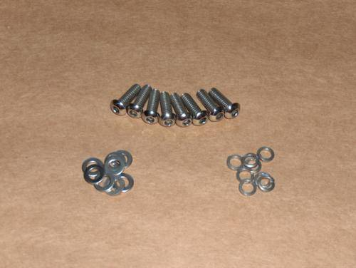 Norton 750 850 Commando Stainless Steel CUSTOM Rocker Bolt Set