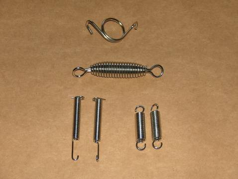 Triumph 500 TR5T Trophy Trail Stainless Spring Kit t100