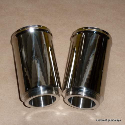 Norton P11 750 Fork Shroud Extension Cover SET STAINLESS