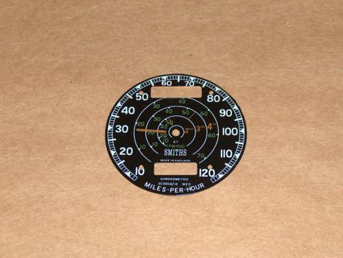 Smiths Chronometric Revometer Speedo Face triumph bsa norton