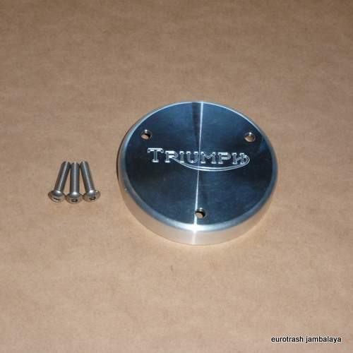 Triumph T150 Alloy Points Cover w/screws 750 billet
