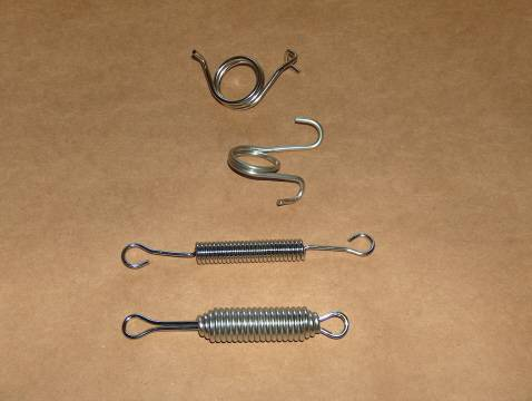 BSA 250 B25 STAINLESS Spring Kit 69-70 Starfire single