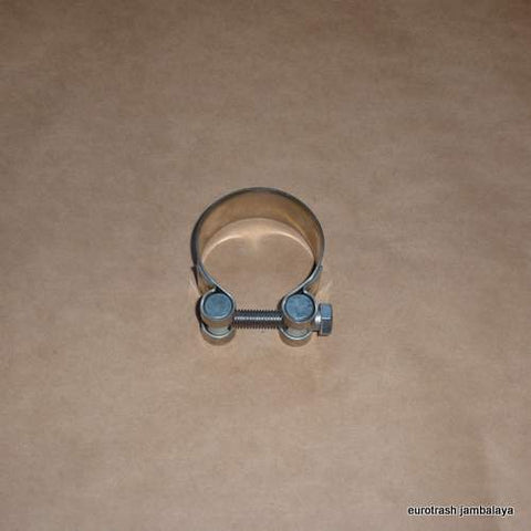 "Italy Exhaust Muffler Clamp 50mm/2"" STAINLESS"