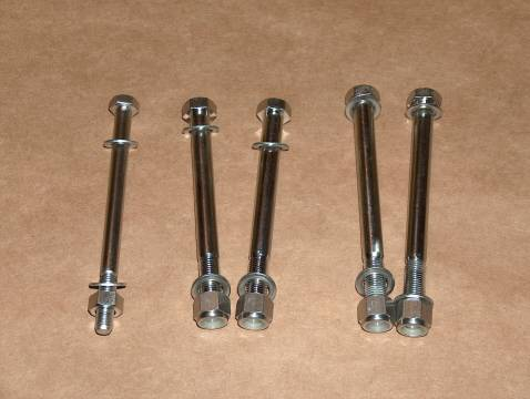 Norton 750 850 Commando STAINLESS Engine Bolt SET