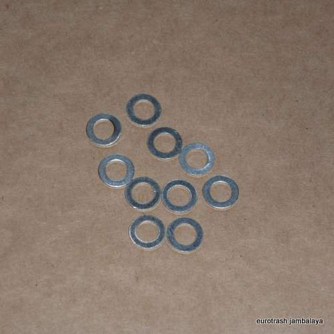 8mm Aluminum Crush Washer LOT Moto Guzzi Ducati Honda BMW