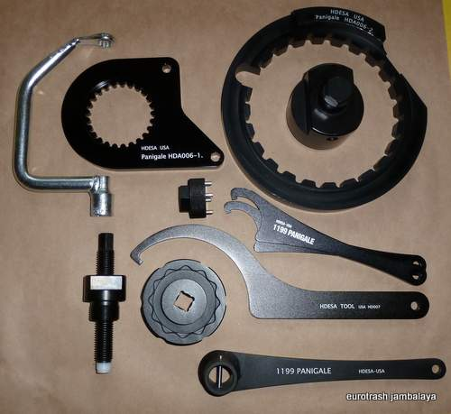 Ducati Panigale 1199 S CHASSIS/ENGINE TOOL SET COMPLETE