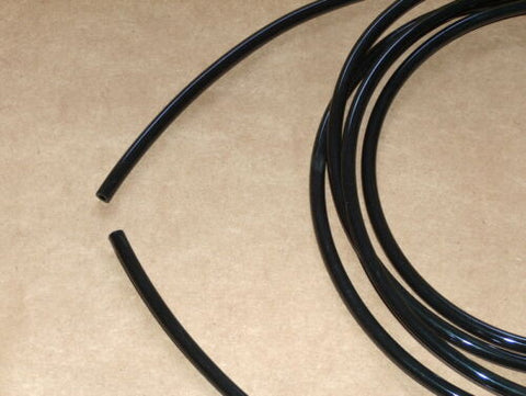 BLACK Fuel Gas Line 5mm Ducati Moto Guzzi BSA Triumph Norton