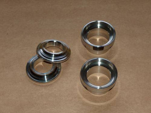Ducati Single Steering Bearing Race Set 250 350 450 Stainless