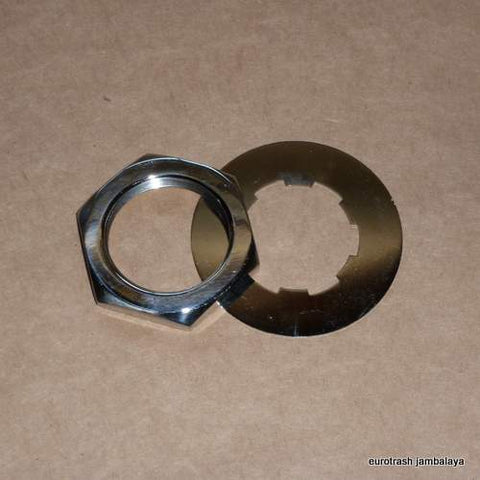 Triumph 4-speed Sprocket Nut/Tab Washer Kit STAINLESS 500 650