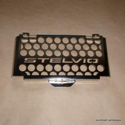 Moto Guzzi Stelvio 1200 Radiator Guard Cover STAINLESS 2008-2010