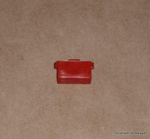 Lucas Handlebar Switch Button Triumph Norton BSA RED short 71-72