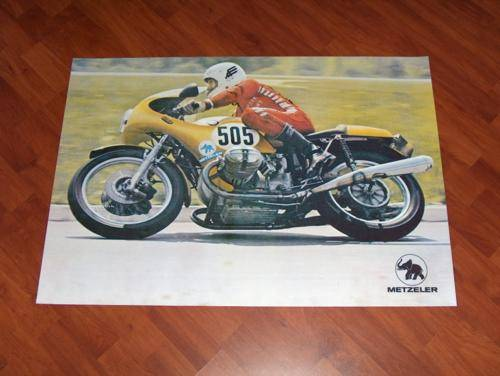 BMW R90S Racing Poster by Metzeler r90 s r100rs r100