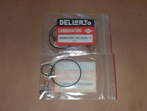 Dellorto 52535 FVCA Gasket Set vespa scooter moped