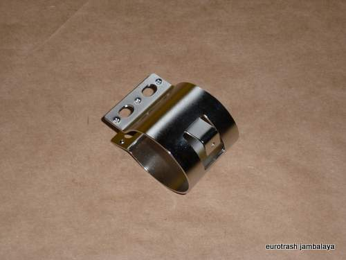 Lucas Ignition Coil Mount STAINLESS Norton Triumph BSA condener