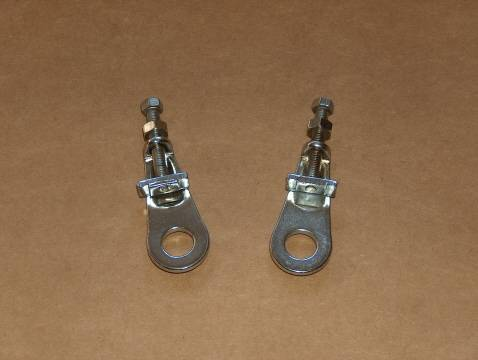 Ducati Single Wheel Chain Adjuster Set 250 350 450 NOS