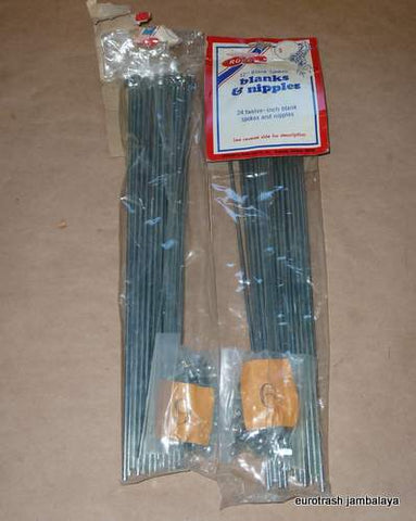 NOS Spoke/Nipple LOT Rocky Cycle 9 Gauge set of 48