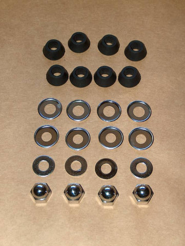 Ducati Single Shock Nut / Grommet / Washer Kit 250 350 450