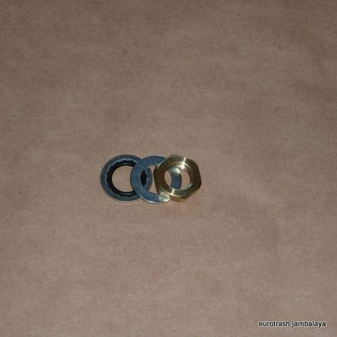 Petcock Nut/Washer/Seal SET Triumph Norton BSA 1/4 BPT