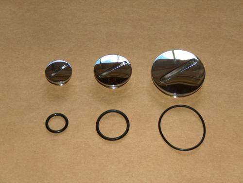 Norton 850 MK3 Commando Plug Set Stainless Steel
