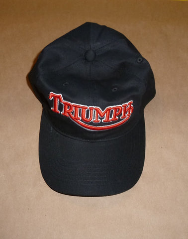 Triumph Embroidered Baseball Hat Cap Top Quality Canvas 500 650 750 Bonneville