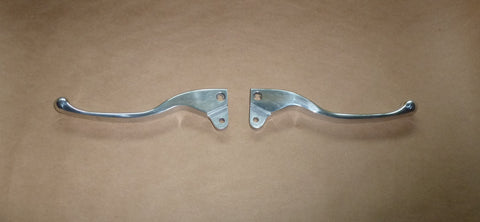 CUSTOM Dogleg Lever SET Clutch Brake Norton Triumph BSA 250 500 650 750 1971-72