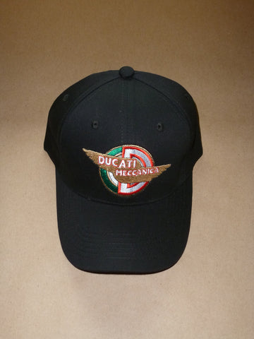 Ducati Embroidered Baseball Hat Cap Top Quality Canvas 250 350 450 bevel single