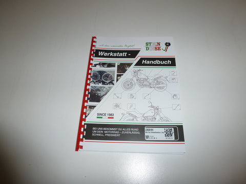 Moto Guzzi Workshop Manual 350 500 650 V35 V50 V65 small block 2392-0181 Imola Monza SP