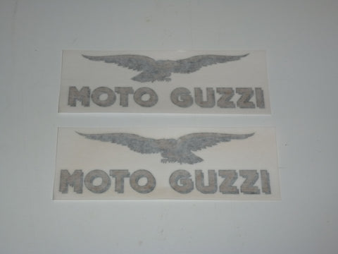 Moto Guzzi Tank Decal  SET die-cut Lemans Monza 500 850 3 black/gold 160mm