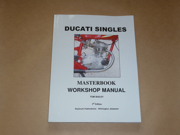 DUCATI bevel single MASTERBOOK workshop manual 250 350 450