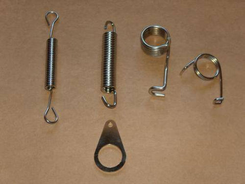 Triumph 500 650 Pre-Unit Stainless Spring Kit thru-'59 t100 t120